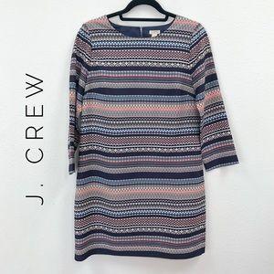 {J. Crew} colorful striped sheath dress 4